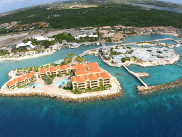 The Royal Sea Aquarium Resort panoramic view